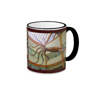 Giant Squid Pike Place Market Seattle, WA Ringer Coffee Mug