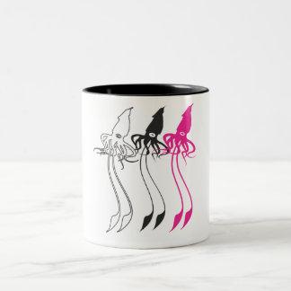 Giant Squids Two-Tone Coffee Mug