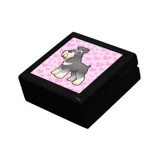 Giant / Standard / Miniature Schnauzer Love Keepsake Box