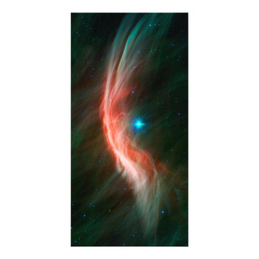 Giant Star Zeta Ophiuchi Space Picture Card