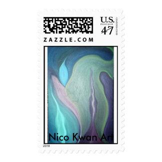 Giant Step Inspirations, Nico Kwan Art Postage