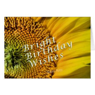 Giant Sunflower-customize it Card