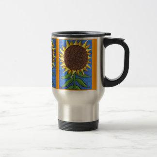 Giant Sunflower - travel mug