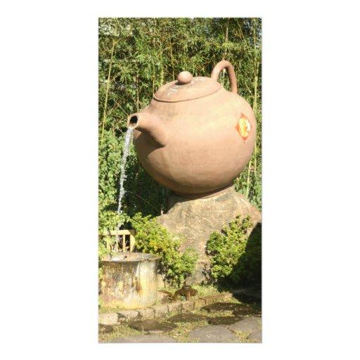 Giant teapot at Pinglin, Taiwan Photo Greeting Card