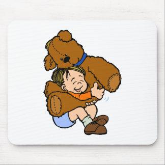Giant Teddy Bear Hug Mouse Pad