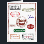 """Giant Thank You Card<br><div class=""""desc"""">Make a HUGE impression with our Giant Thank You Card.  No matter how it might be written or said,  please accept our sincere Thank You!</div>"""