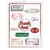 Giant Thank You Card