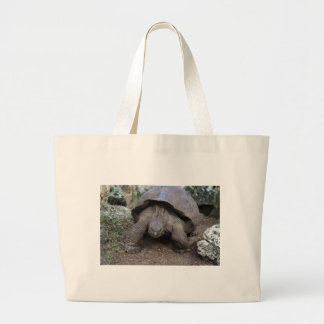 Giant tortoise Galapagos Islands Canvas Bag