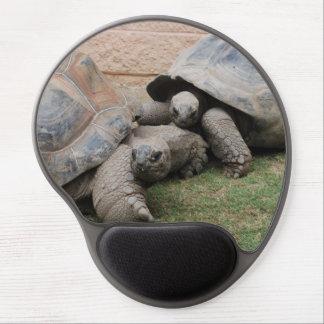 giant tortoises gel mouse mat