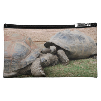 giant tortoises makeup bag
