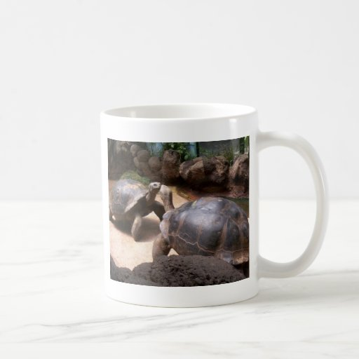 Giant Turtle Kiss Coffee Mug
