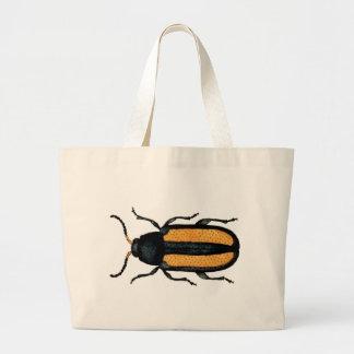 Giant Vintage Beetle Totebag Large Tote Bag