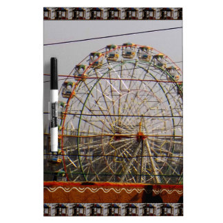 Giant Wheel Rides New Delhi India Craft Festivals Dry-Erase Board