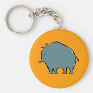 giant woolly tapir keychain