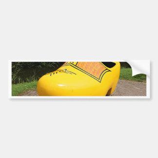 Giant yellow clog, Holland Bumper Sticker