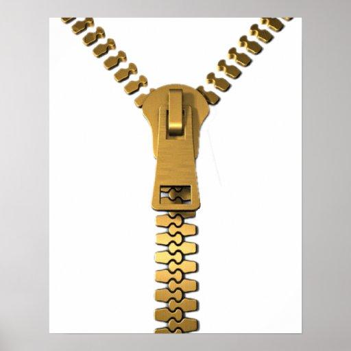 """Giant Zipper Poster 16x20"""""""
