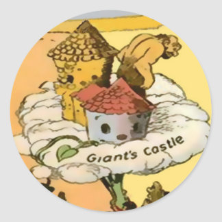 Giant's Castle Stickers (in 8 shapes, 2 sizes)