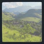 "Giant&#39;s Castle, Ukhahlamba / Drakensberg Park Stone Coaster<br><div class=""desc"">Gallo Images / DanitaDelimont.com Africa,  South Africa</div>"