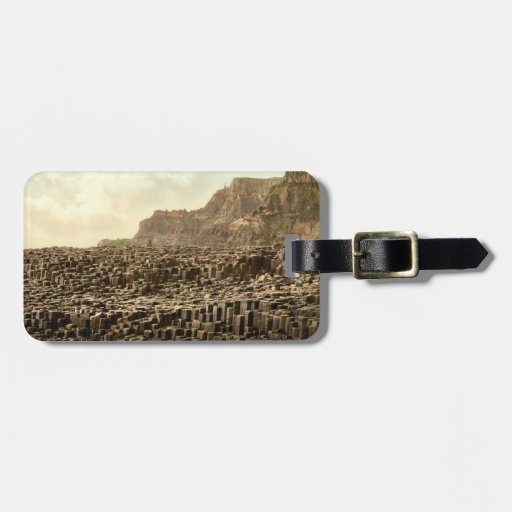 Giant's Causeway, County Antrim, Northern Ireland Travel Bag Tags