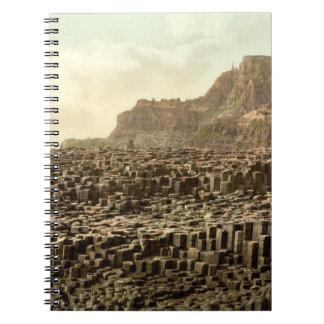 Giant's Causeway, County Antrim, Northern Ireland Spiral Note Books