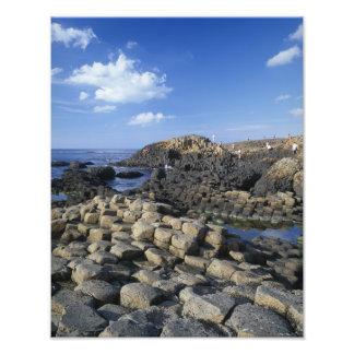 Giants Causeway, County Antrim, Northern Photo Print