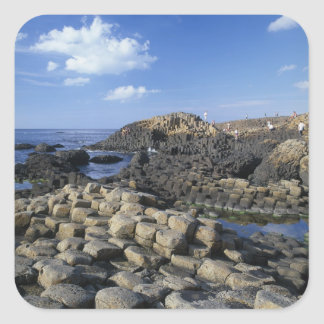 Giants Causeway, County Antrim, Northern Square Sticker
