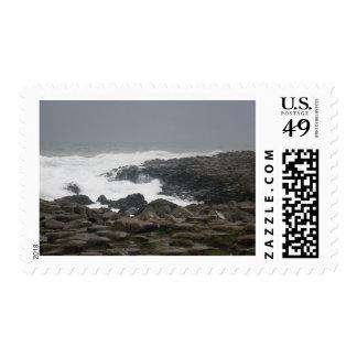 Giants Causeway Postage Stamp