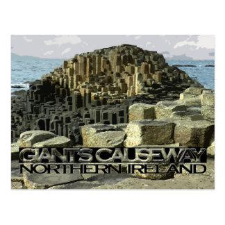 Giants Causeway Postcard