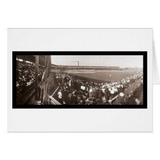 Giants Cubs Baseball Photo 1908 Greeting Card