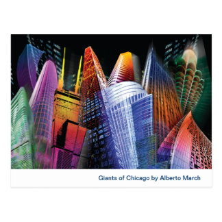 Giants del collage de Chicago Postal