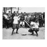 Giants femenino: 1913 tarjeta postal