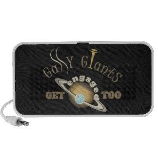 ¡Giants gaseoso consigue enganchado también! iPod Altavoz