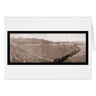 Giants Pirates Polo Grounds Baseball Photo 1905 Card