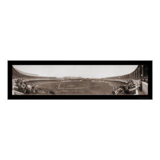 Giants Polo Grounds Baseball Photo 1910 Poster
