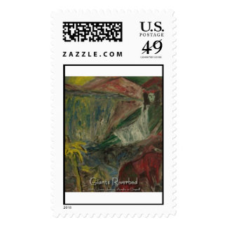 giants riverbed  stamp