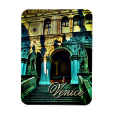 Giants' Staircase - Doge's Palace, Venice, Italy Magnet