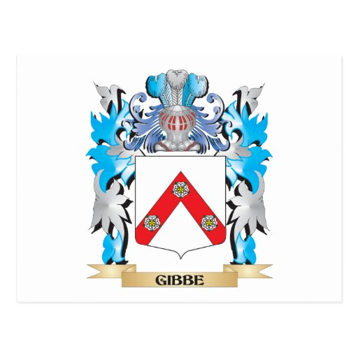 Gibbe Coat of Arms - Family Crest Post Card