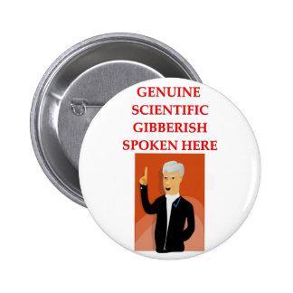 gibberish pinback button