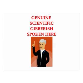 gibberish postcard