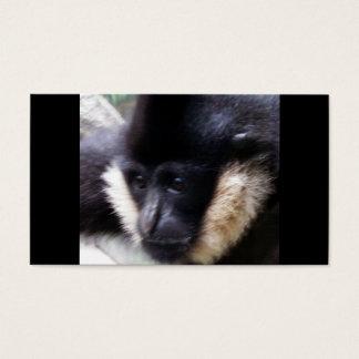 Gibbon Ape Pastel Business Card