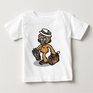 Gibbon baby shirt