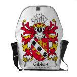 Gibbon Family Crest Messenger Bag