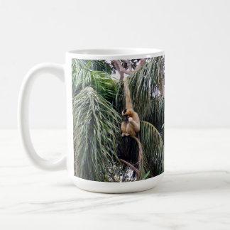 Gibbon Just Hanging Around, Coffee Mug