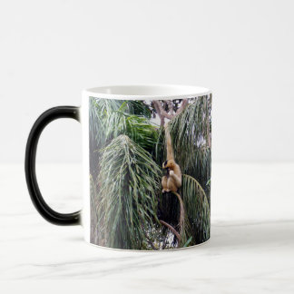 Gibbon Just Hanging Around, Magic Mug