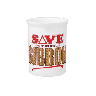 Gibbon Save Drink Pitcher