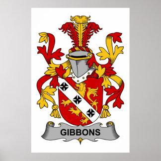 Gibbons Family Crest Print