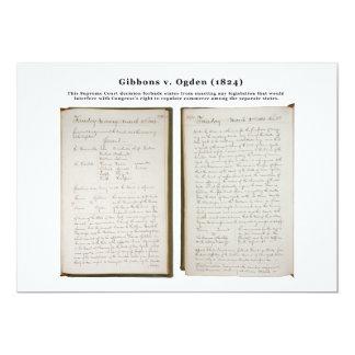Gibbons v. Ogden, 22 U.S. 1 (1824) Card