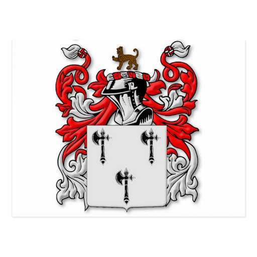 Gibbs Coat of Arms Post Card