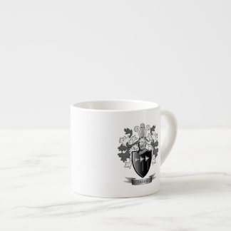 Gibbs Family Crest Coat of Arms Espresso Cup