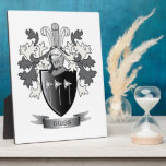 "Gibbs Family Crest Coat of Arms Plaque<br><div class=""desc"">Gibbs family crest and Scottish Gibbs coat of arms. For men with the Gibbs surname,  and for women with the Gibbs last name. Click &#39;Gibbs Family Crest&#39; to see all our designs featuring the Gibbs family name.</div>"